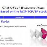 Startseite vom Webserver